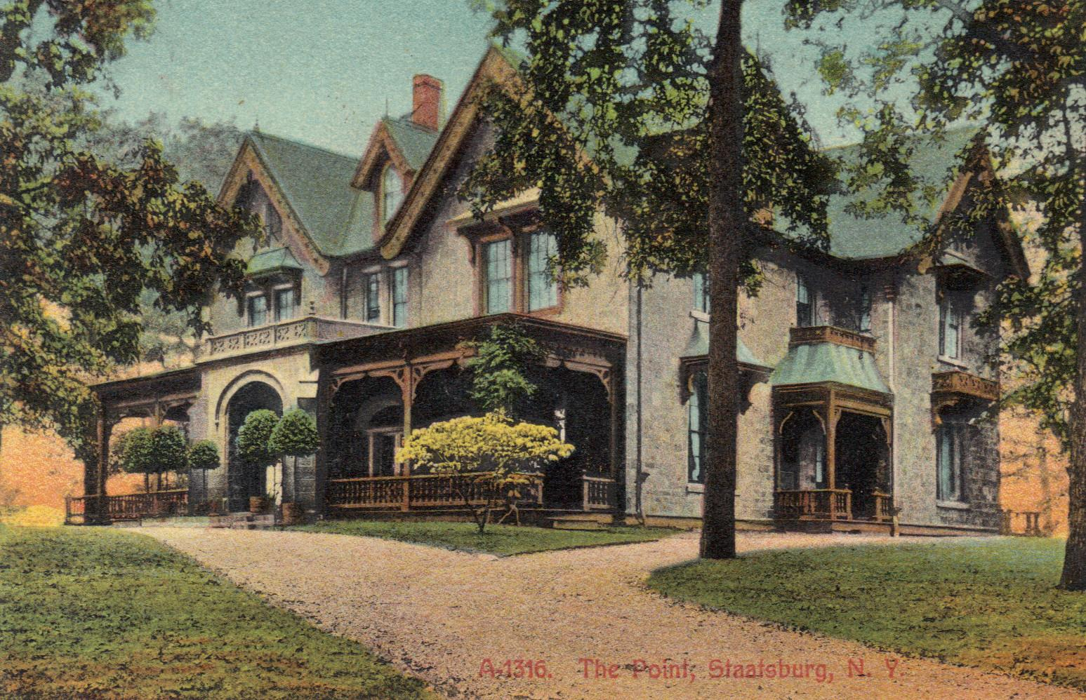 Hoyt House – The Point, Staatsburg, N.Y.