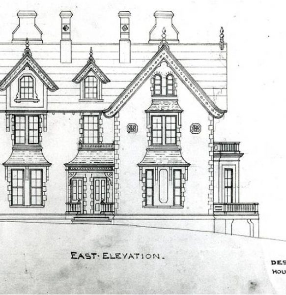 The Point, East Elevation